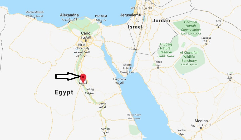 Where is Asyut Located? What Country is Asyut in? Asyut Map