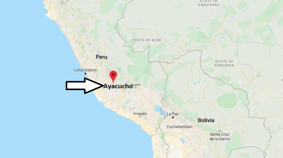 Where is Ayacucho Located? What Country is Ayacucho in? Ayacucho Map