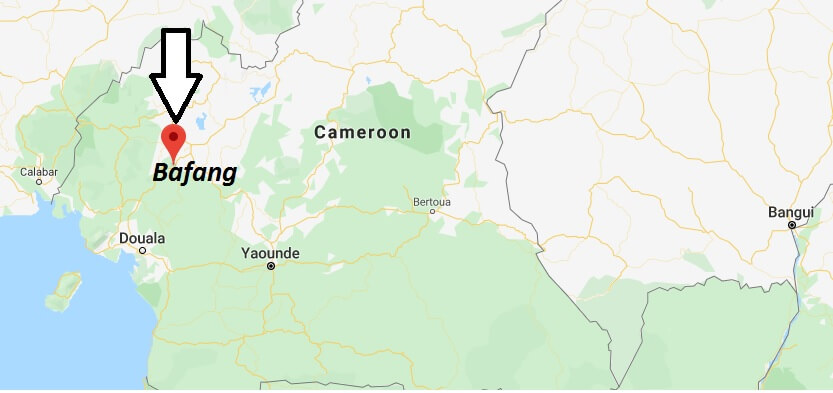 Where is Bafang, Cameroon Located? What Country is Bafang in? Bafang Map
