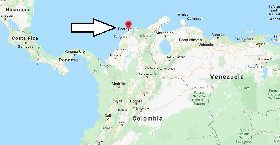 Where is Barranquilla Located? What Country is Barranquilla in? Barranquilla Map