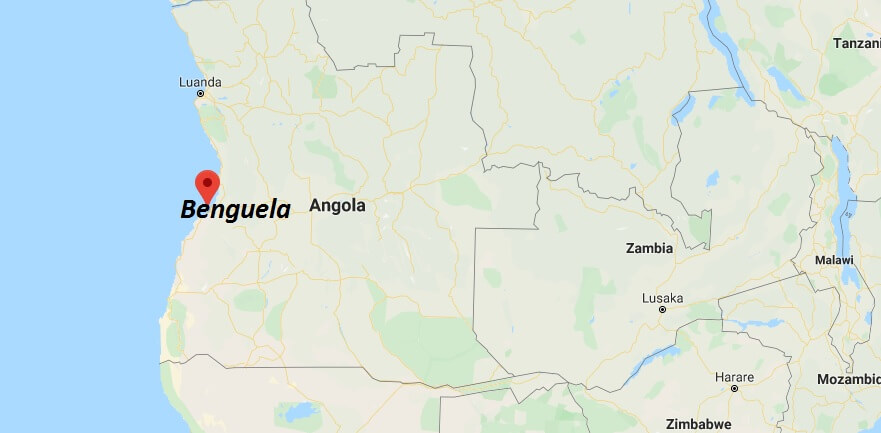 Where is Benguela Located? What Country is Benguela in? Benguela Map