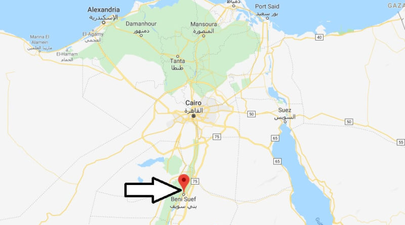 Where is Beni Suef Located? What Country is Beni Suef in? Beni Suef Map