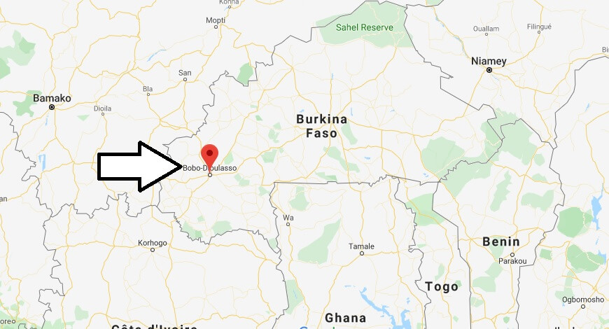 Where is Bobo-Dioulasso Located? What Country is Bobo-Dioulasso in? Bobo-Dioulasso Map