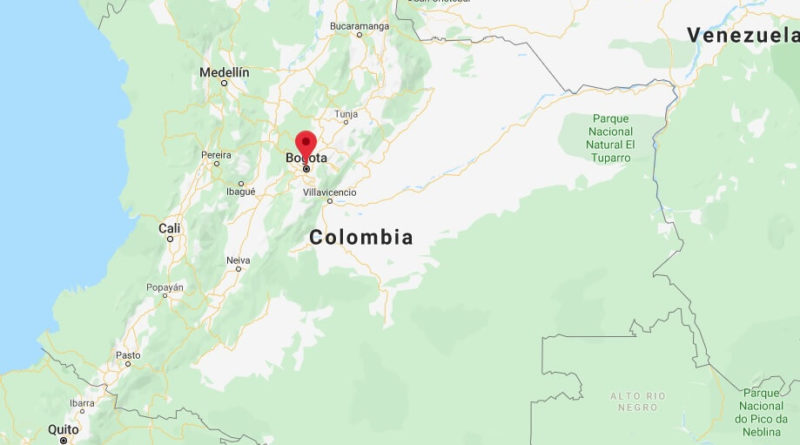 Where is Bogota Located? What Country is Bogota in? Bogota Map