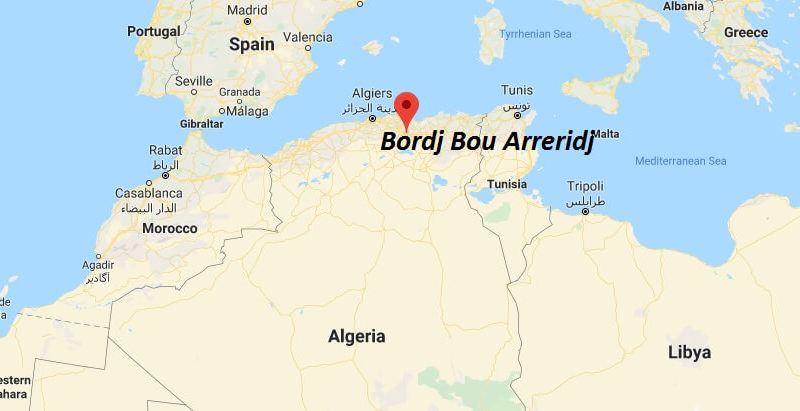 Where is Bordj Bou Arreridj Located? What Country is Bordj Bou Arreridj in? Bordj Bou Arreridj Map