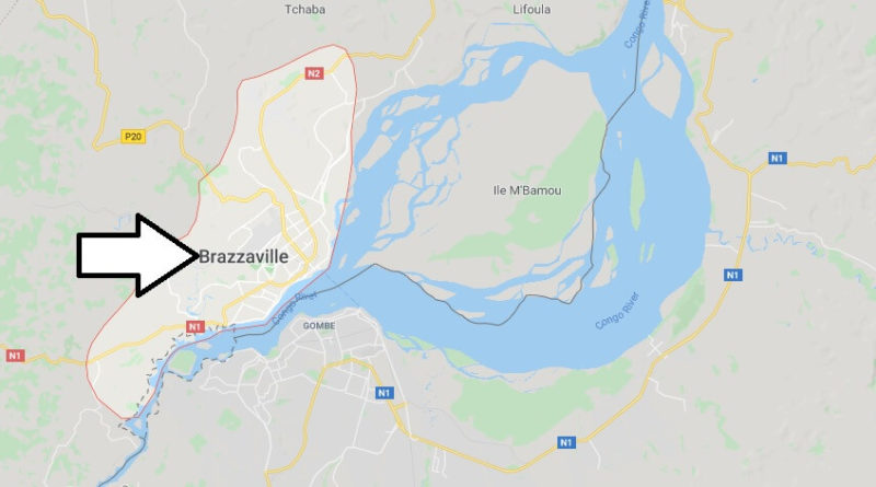 Where is Brazzaville Located? What Country is Brazzaville in? Brazzaville Map