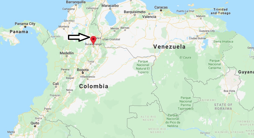 Where is Bucaramanga Located? What Country is Bucaramanga in? Bucaramanga Map
