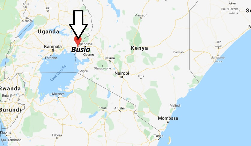 Where is Busia Located? What Country is Busia in? Busia Map