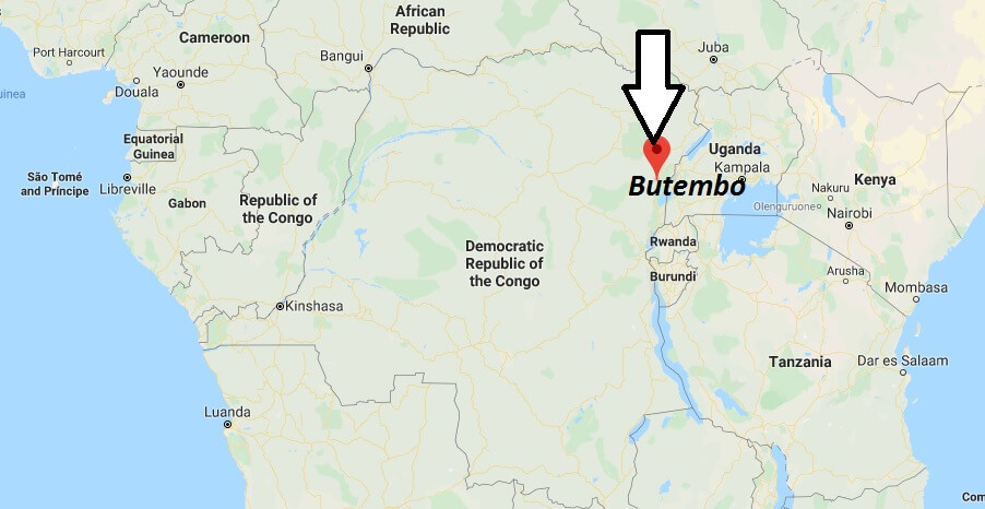 Where is Butembo Located? What Country is Butembo in? Butembo Map