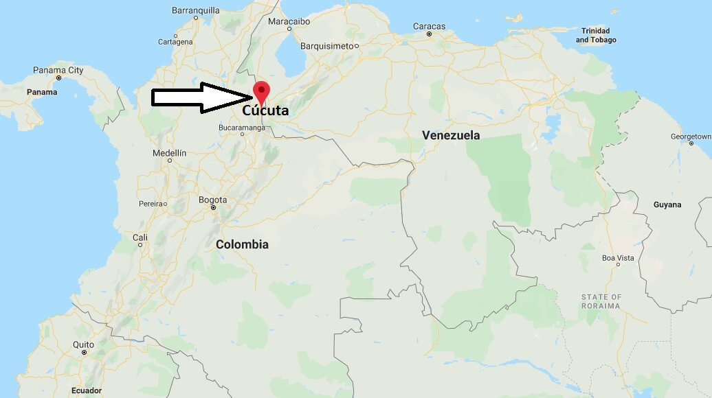 Where is Cúcuta Located? What Country is Cúcuta in? Cúcuta Map