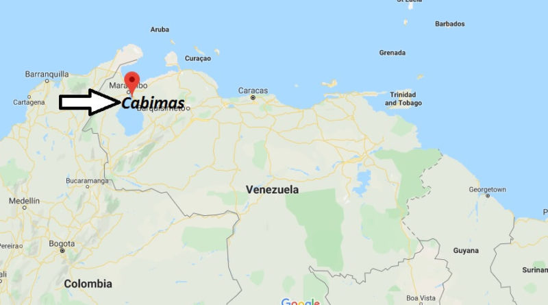 Where is Cabimas Located? What Country is Cabimas in? Cabimas Map