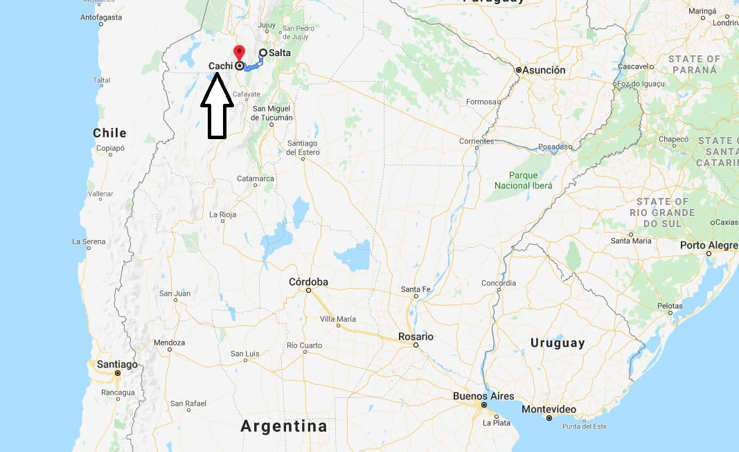 Where is Cachi, Argentina Located? What Country is Cachi in? Cachi Map