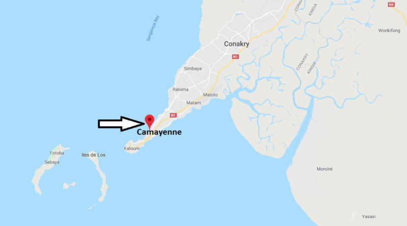 Where is Camayenne Located? What Country is Camayenne in? Camayenne Map