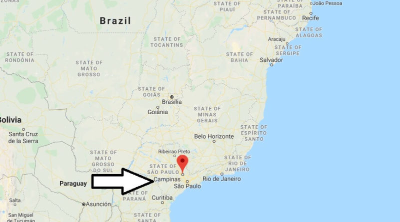 Where is Campinas Located? What Country is Campinas in? Campinas Map