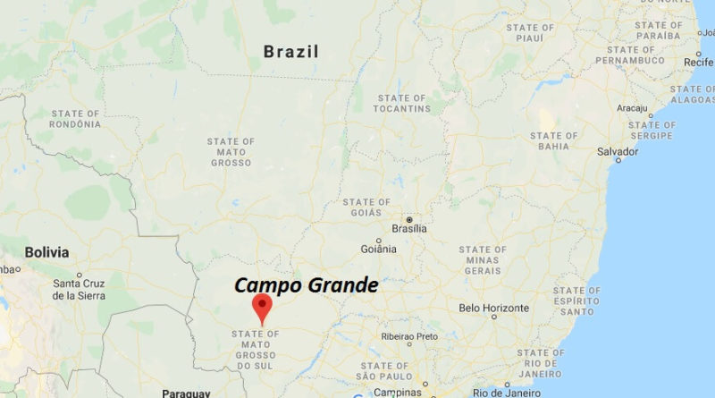 Where is Campo Grande Located? What Country is Campo Grande in? Campo Grande Map