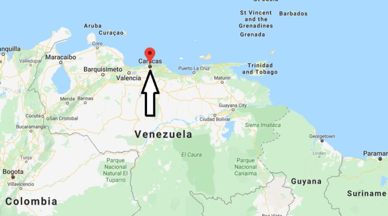 Where is Caracas Located? What Country is Caracas in? Caracas Map