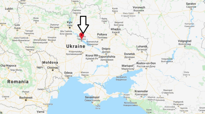 Where is Cherkasy Located? What Country is Cherkasy in? Cherkasy Map