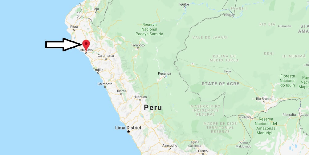 Where is Chiclayo Located? What Country is Chiclayo in? Chiclayo Map