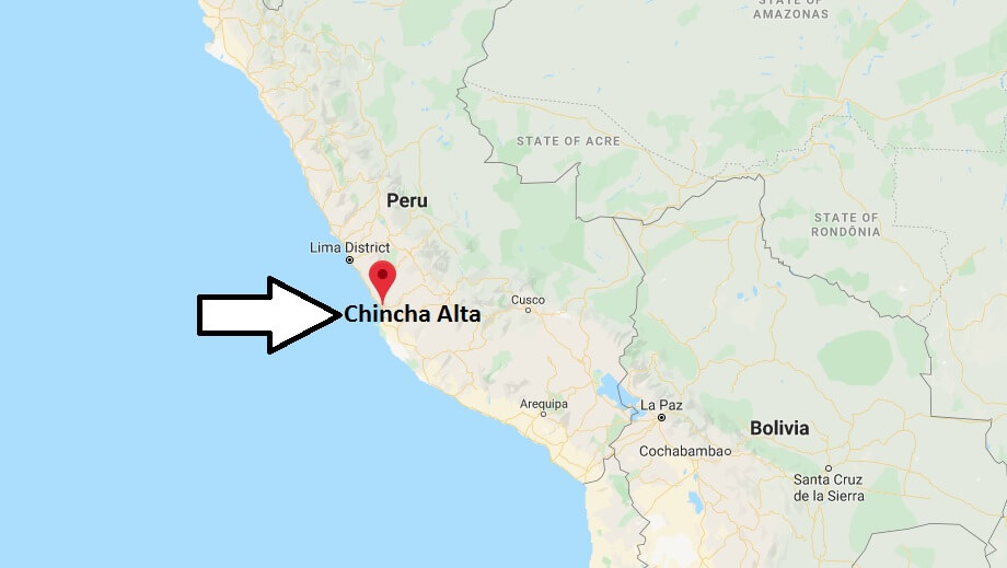 Where is Chincha Alta Located? What Country is Chincha Alta in? Chincha Alta Map