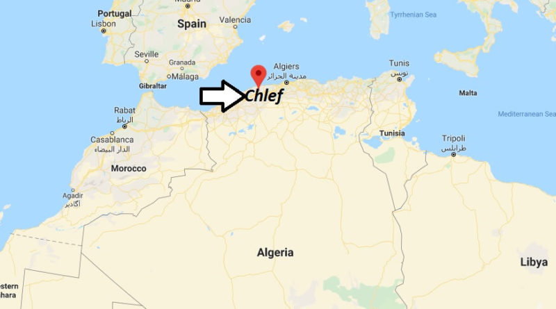 Where is Chlef Located? What Country is Chlef in? Chlef Map