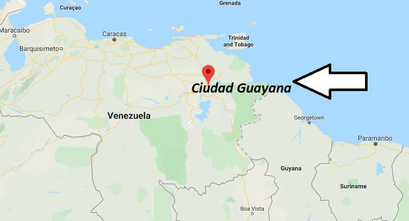 Where is Ciudad Guayana Located? What Country is Ciudad Guayana in? Ciudad Guayana Map