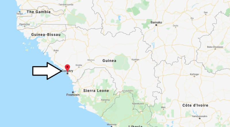 Where is Conakry Located? What Country is Conakry in? Conakry Map