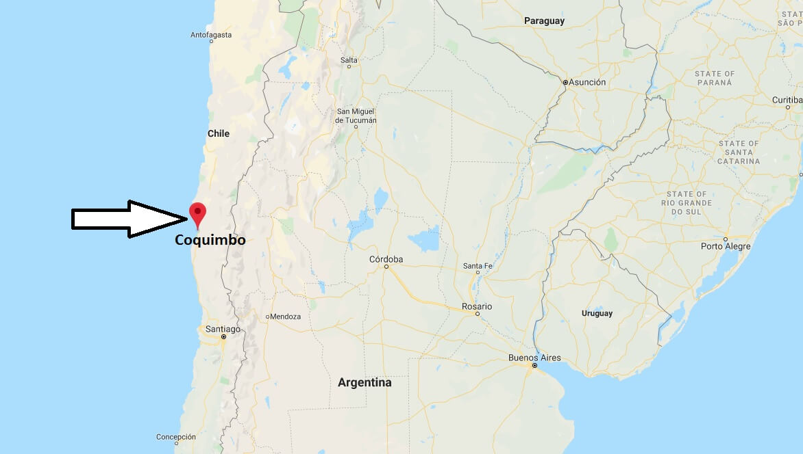 Where is Coquimbo Located? What Country is Coquimbo in? Coquimbo Map