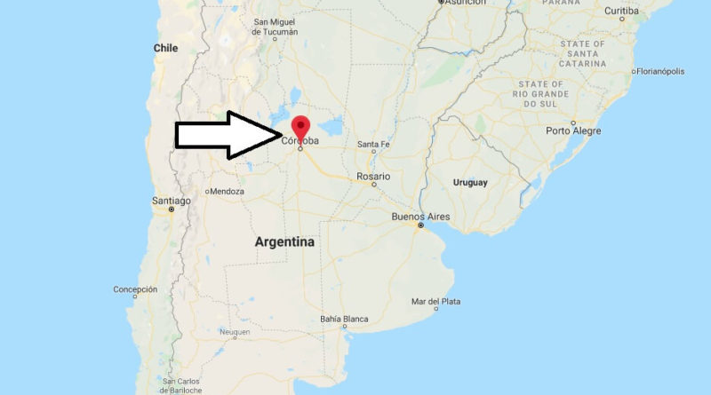 Where is Cordoba (Argentina) Located? What Country is Cordoba in? Cordoba Map