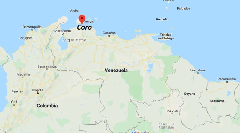 Where is Coro Located? What Country is Coro in? Coro Map