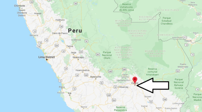 Where is Cusco Located? What Country is Cusco in? Cusco Map