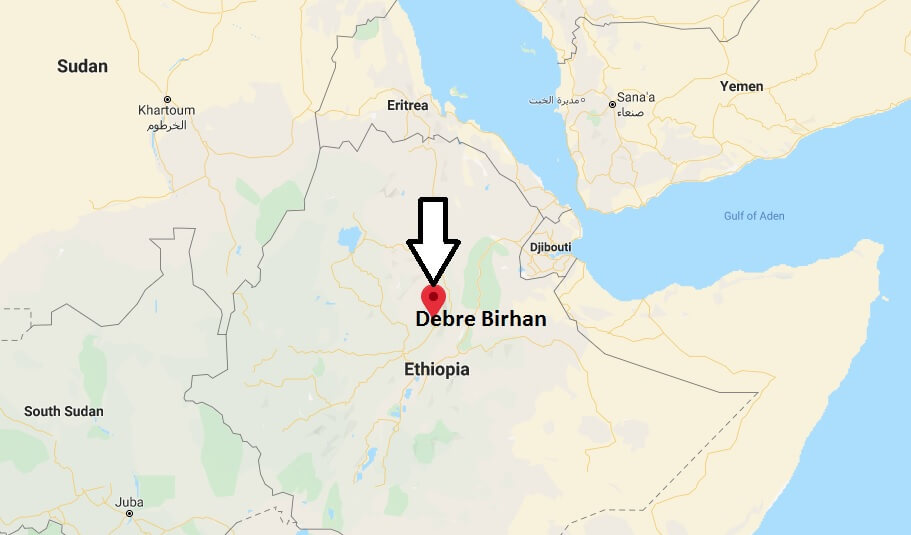 Where is Debre Birhan Located? What Country is Debre Birhan in? Debre Birhan Map