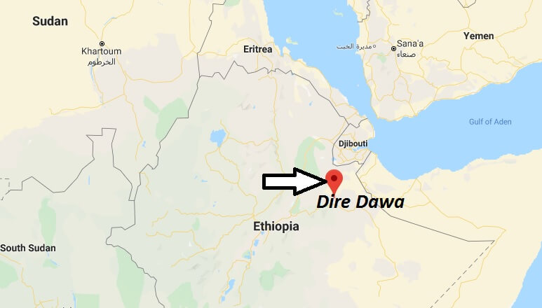 Where is Dire Dawa Located? What Country is Dire Dawa in? Dire Dawa Map