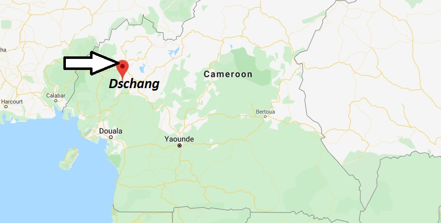 Where is Dschang Located? What Country is Dschang in? Dschang Map