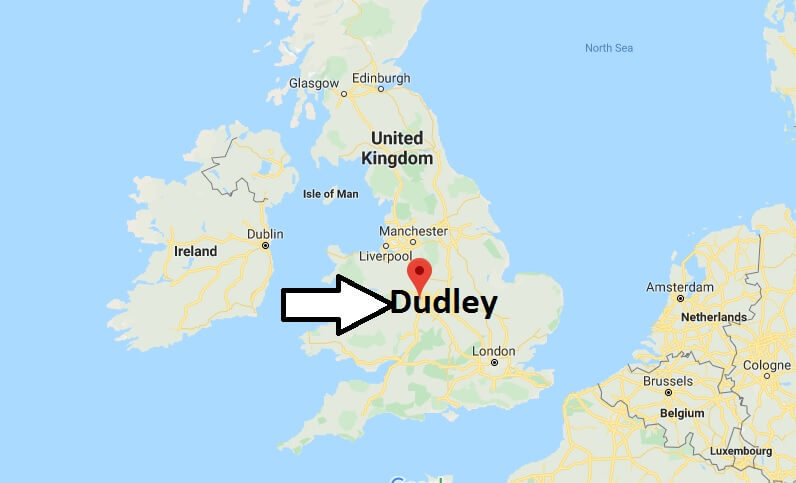 Where is Dudley Located? What Country is Dudley in? Dudley Map