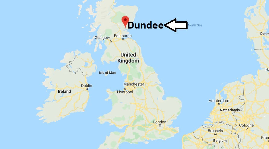 Where is Dundee Located? What Country is Dundee in? Dundee Map