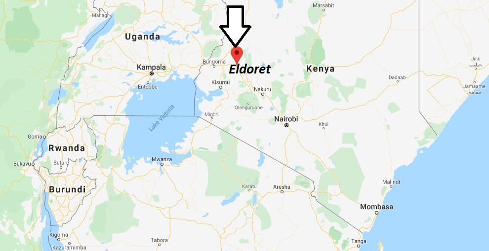 Where is Eldoret Located? What Country is Eldoret in? Eldoret Map