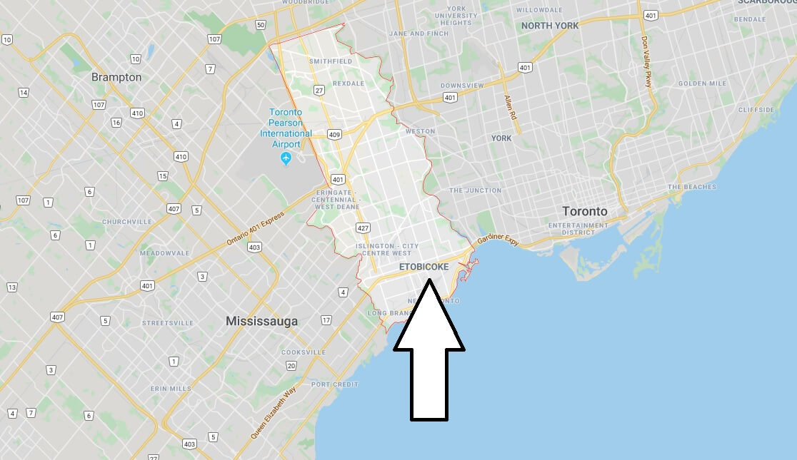 Where is Etobicoke Located? What Country is Etobicoke in? Etobicoke Map