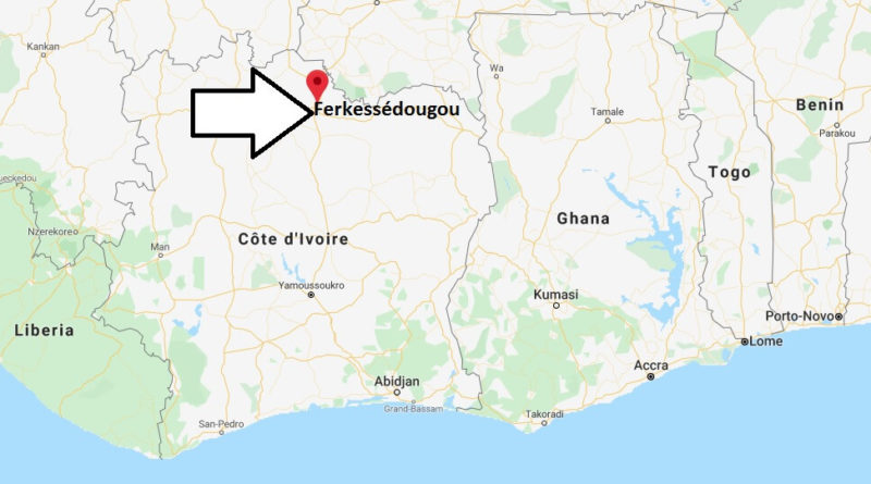 Where is Ferkessédougou Located? What Country is Ferkessédougou in? Ferkessédougou Map