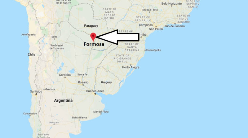 Where is Formosa Located? What Country is Formosa in? Formosa Map