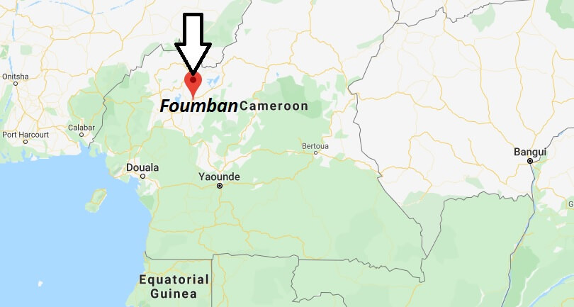 Where is Foumban Located? What Country is Foumban in? Foumban Map