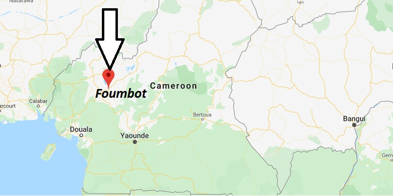 Where is Foumbot Located? What Country is Foumbot in? Foumbot Map