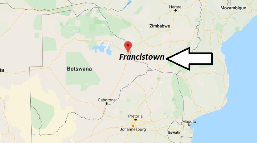 Where is Francistown Located? What Country is Francistown in? Francistown Map