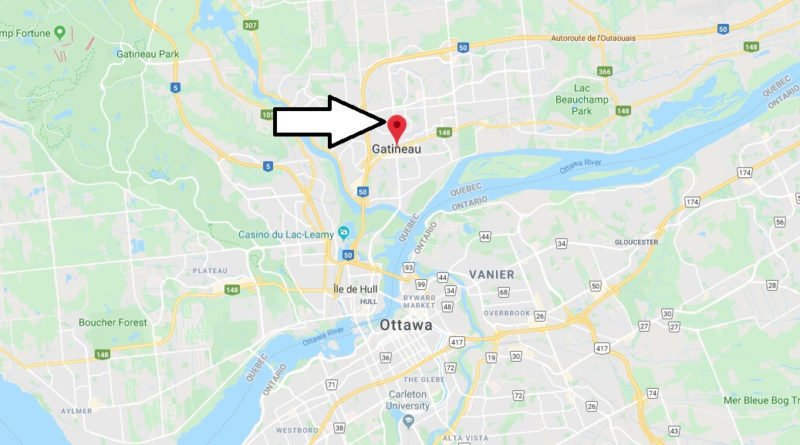 Where is Gatineau (Canada) Located? What Country is Gatineau in? Gatineau Map