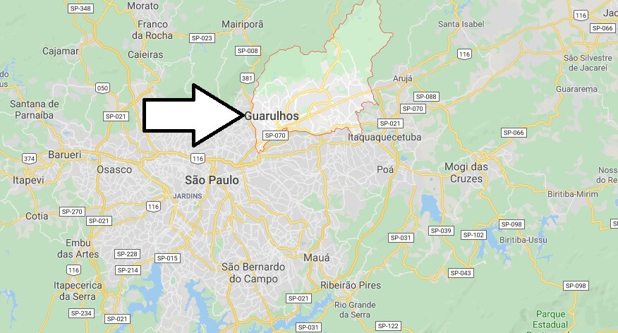 Where is Guarulhos Located? What Country is Guarulhos in? Guarulhos Map
