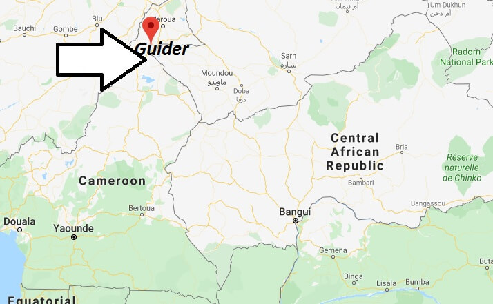 Where is Guider Located? What Country is Guider in? Guider Map