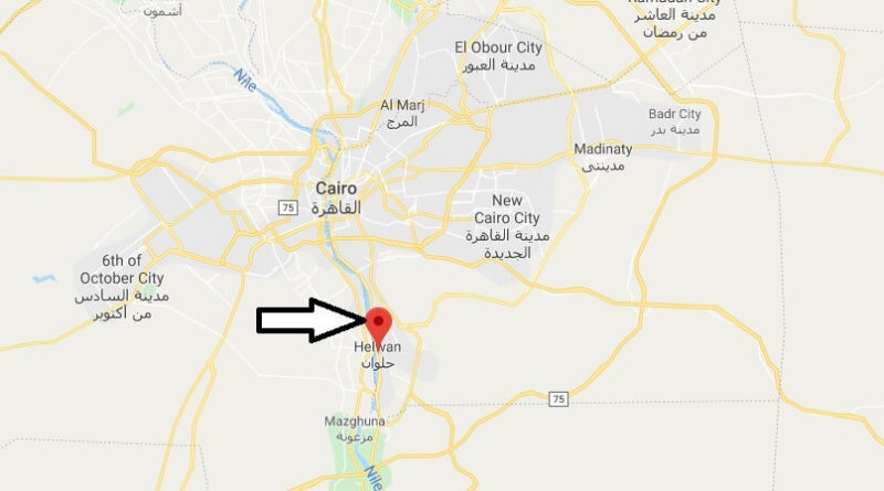Where is Halwan Located? What Country is Halwan in? Halwan Map