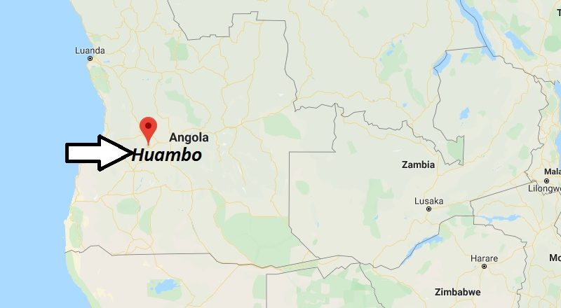 Where is Huambo Located? What Country is Huambo in? Huambo Map