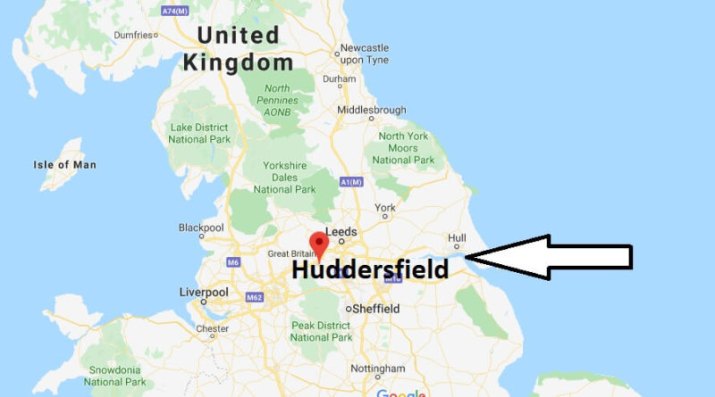 Where is Huddersfield Located? What Country is Huddersfield in? Huddersfield Map