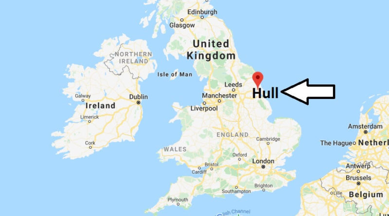 Where is Hull Located? What Country is Hull in? Hull Map