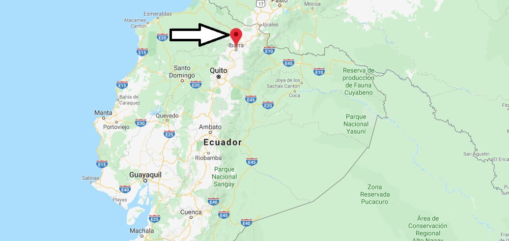 Where is Ibarra, Ecuador Located? What Country is Ibarra in? Ibarra Map